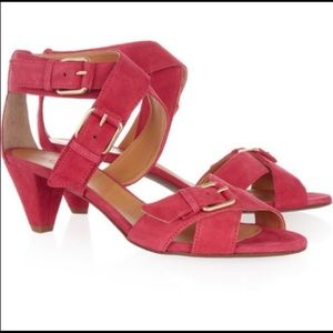 J.crew Lucca buckled suede sandals